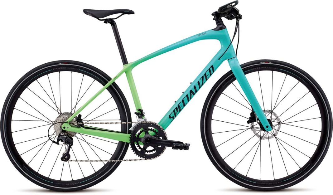 2018 Specialized Sirrus womens city commuter fitness bike