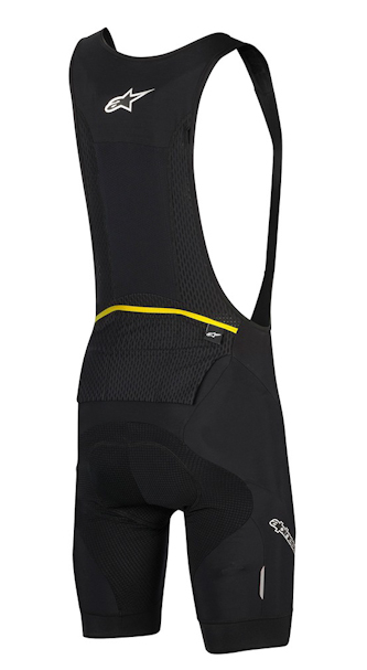 Alpinestars paragon bibshorts, rear view