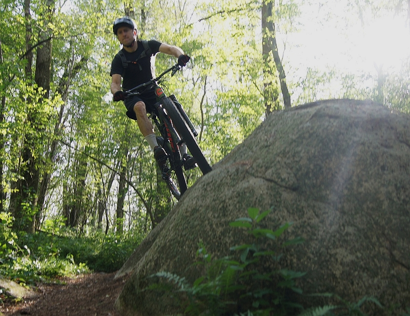 cannondale bad habit review of their plus-tire full suspension mountain bike
