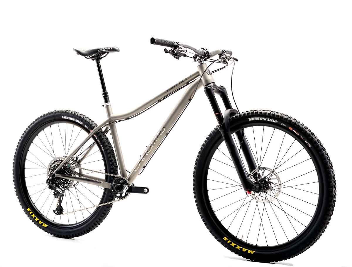 Chromag Ti\'s one on with the new 2018 Surface Ti - Bikerumor