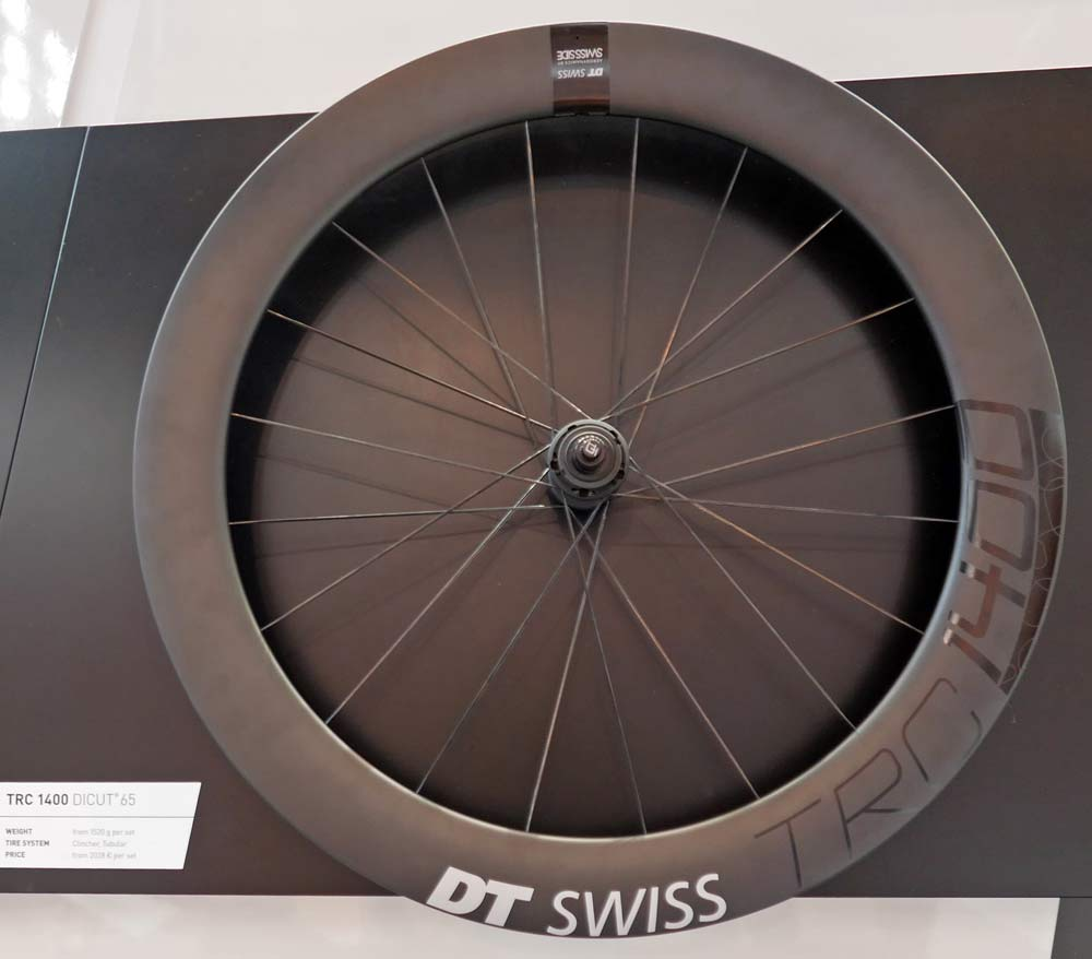 DT Swiss TRC 1400 Dicut track road revolution 2018 carbon track fixed-gear crit wheels