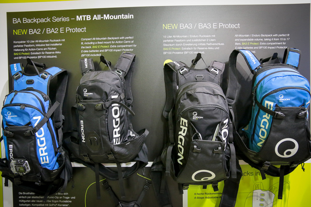 EB17: Ergon forms new Women's saddles, adds eBike bags, new grips, more