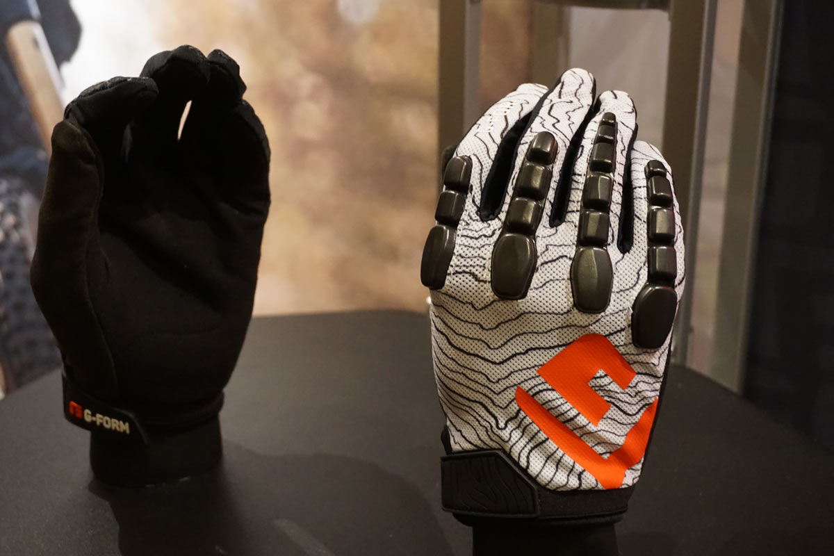 2018 G-Form Pro Trail Glove with protective knuckle padding