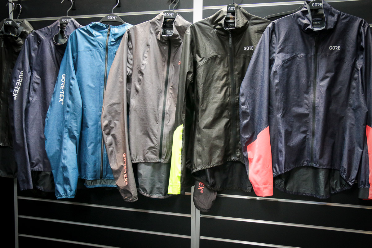 EB17: Gore Shakedry jackets get more colorful along with a full new Enduro line, more