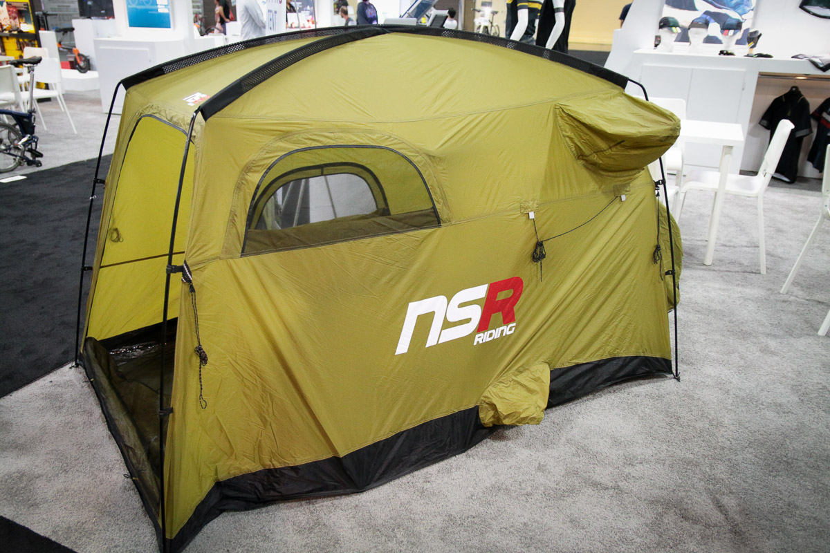 The product of a Korean cycling clothing company apparently the brand recently bought out a tent manufacturer and is now making tents in house. & IB17: NSR bikepacking tent wonu0027t leave your bike out in the cold ...