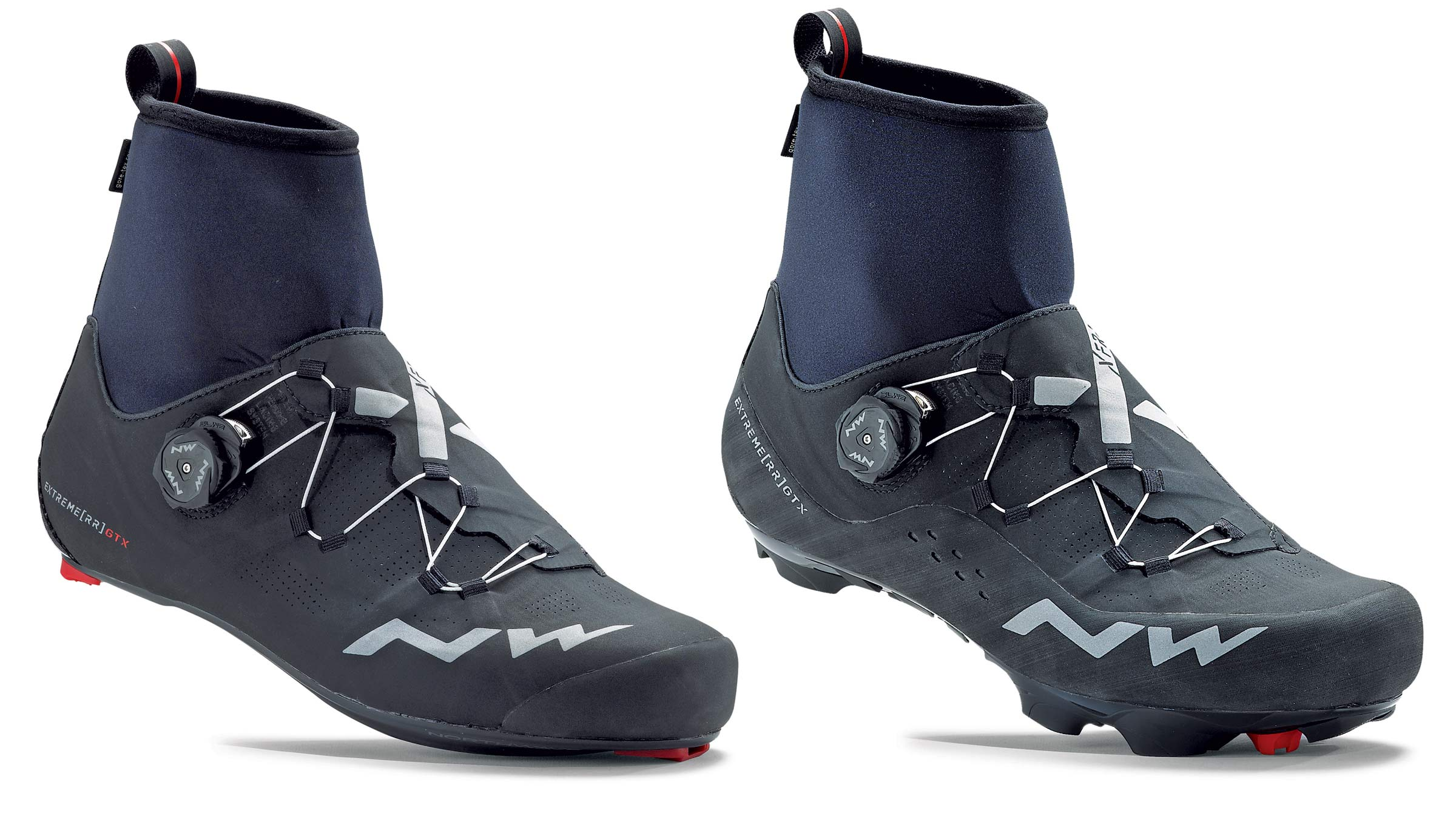 Northwave Extreme RR & XCM GTX GoreTex waterproof winter shoes winter cycling shoes full range of ankle motion ClimaFlex Collar road and mountain bike