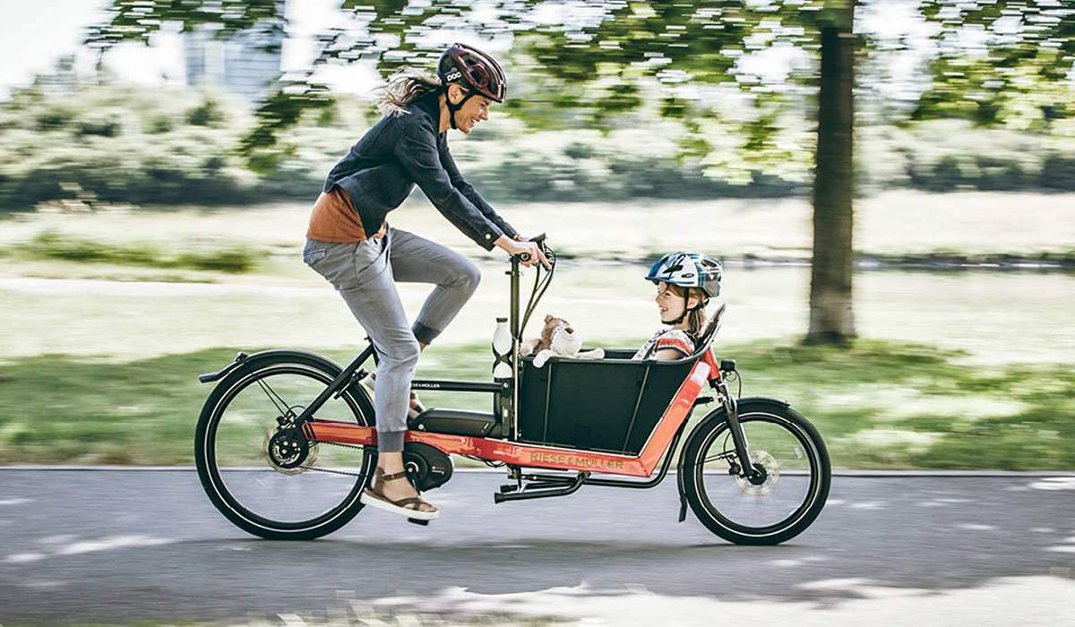 test ride a riese m ller e cargo or e bike for a month. Black Bedroom Furniture Sets. Home Design Ideas