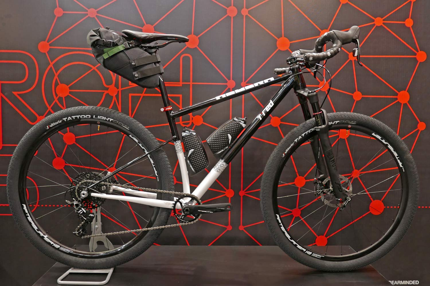2c29ee70c5d EB17: 3 new bikes in 3 metals from TRed for road racing & adventure trail