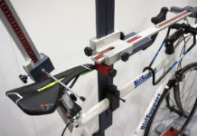Bici Support bicycle fit and measurement workstand for perfect bike fit replication