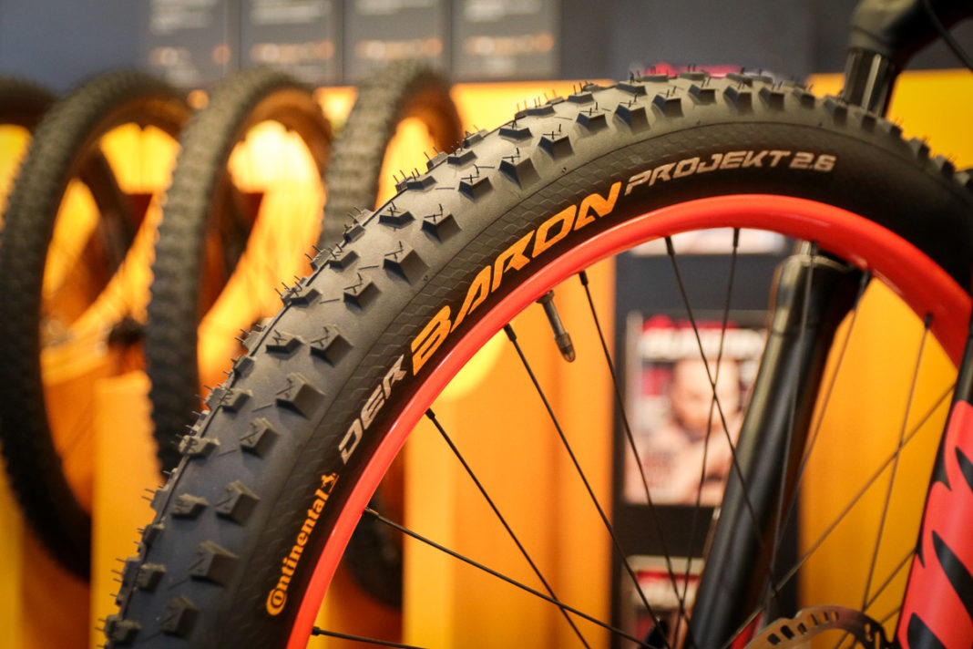 continental revives the king w all new range of mountain bike tires goes plus w der baron 2. Black Bedroom Furniture Sets. Home Design Ideas