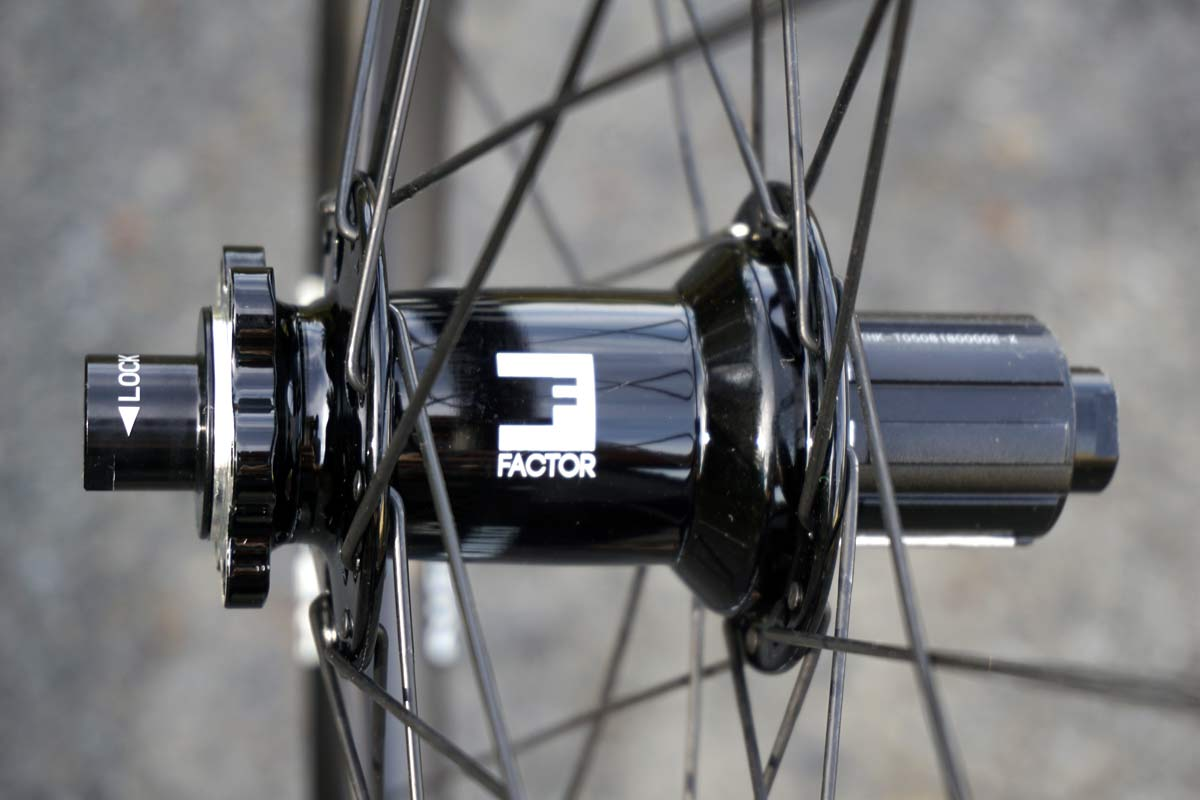 Factor hubs get 60 tooth ratchet and pawls versus Factor 42 tooth version