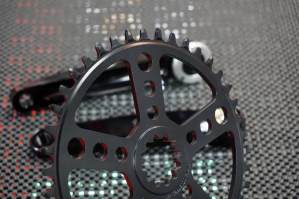White Industries narrow wide direct mount chainrings for square taper bottom bracket cranksets