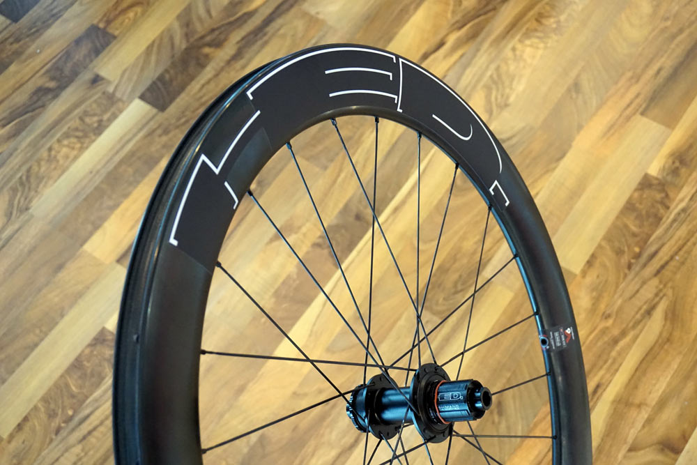 2018 HED Cycling Vanquish 6 carbon tubeless ready disc brake wheelset for road cyclocross and gravel bikes