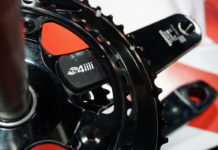 Shimano power meter cranksets from 4iiii Precision Podium stick-on strain gauges