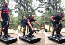 RipRow strength trainer for mountain bikers BMX riders and motocross athletes