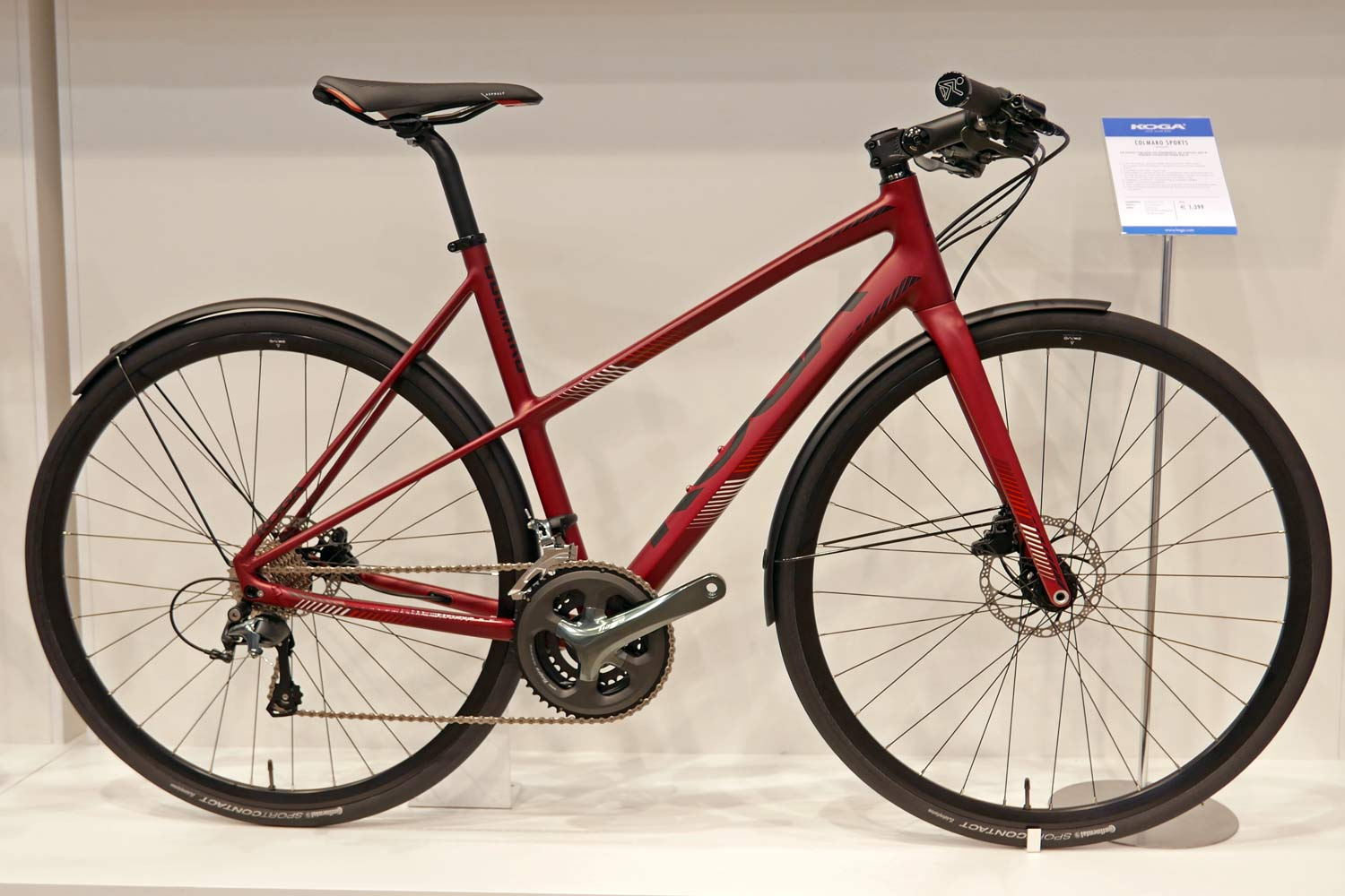 for the same price there is also a mixte frame version called the colamro sport lady it shares the same tiagra triple build with a step through frame - Mixte Frame