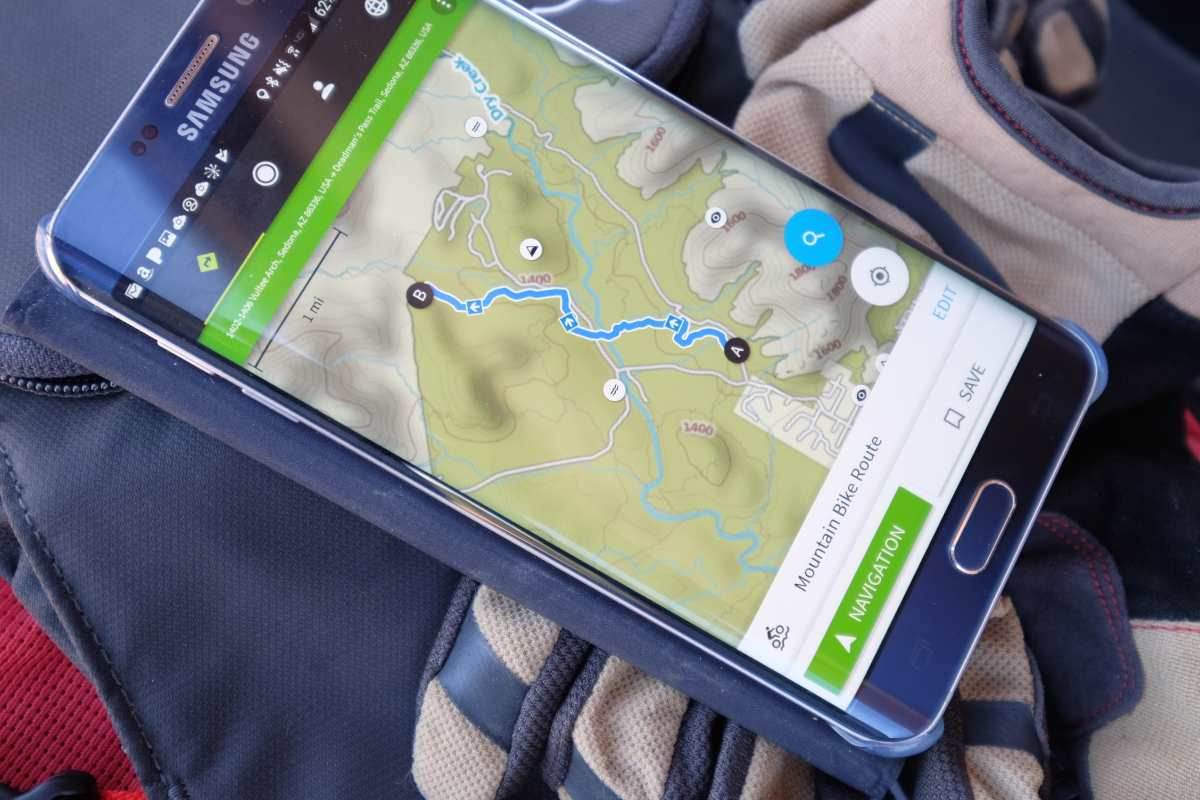 Review: Komoot's app based route planner claims to be world's best