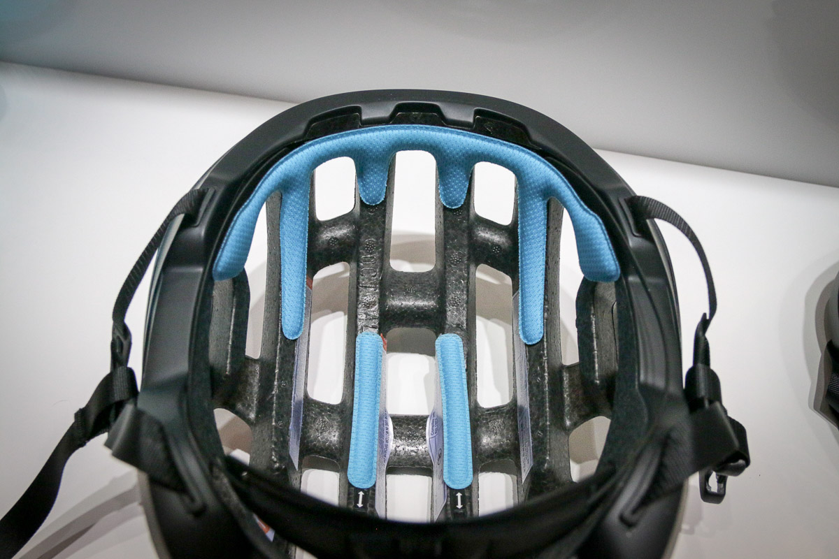 POC Spin anti-rotation gel pads reduce rotational impact forces to your brain to make a safer bicycle helmet
