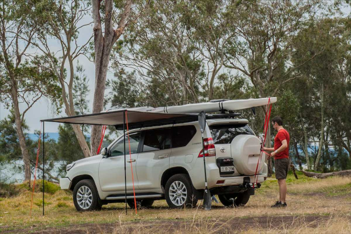 Rhino Racks New SunSeeker Is Perfect For Trailhead Shade
