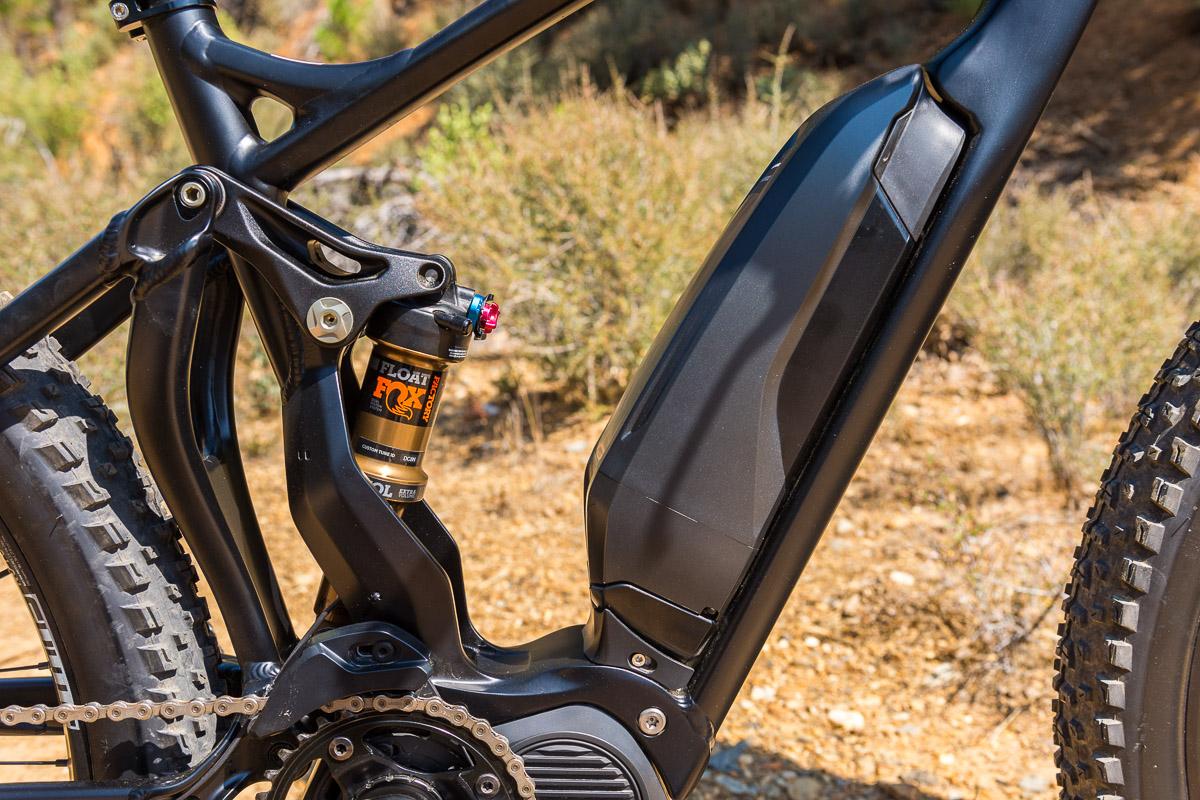 Hands on: Shimano STEPS E8000 e-MTB components make their way to the U.S.