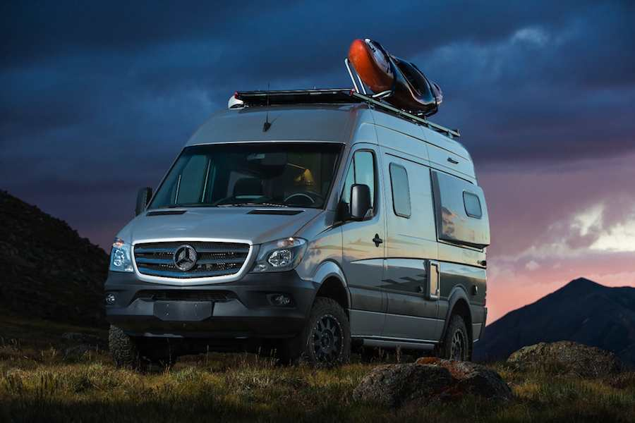 The 4x4 Rebel will access campsites other campers can't reach