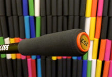ESI Grips Bliss Grip with thinner inner section and padded outer section for more comfortable mountain bike foam grips