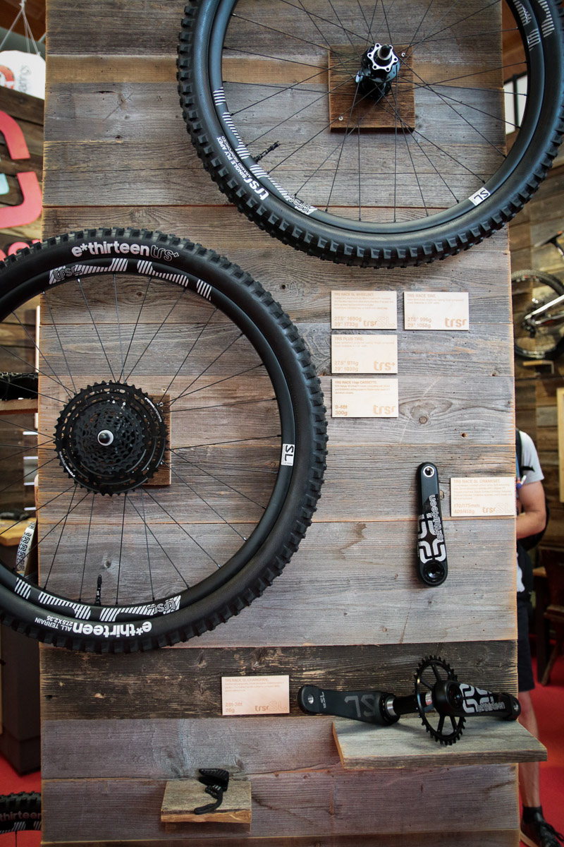 e*thirteen 9-46t cassette gets more affordable, plus new cranks, chainrings, Race SL group, and E-e*13?