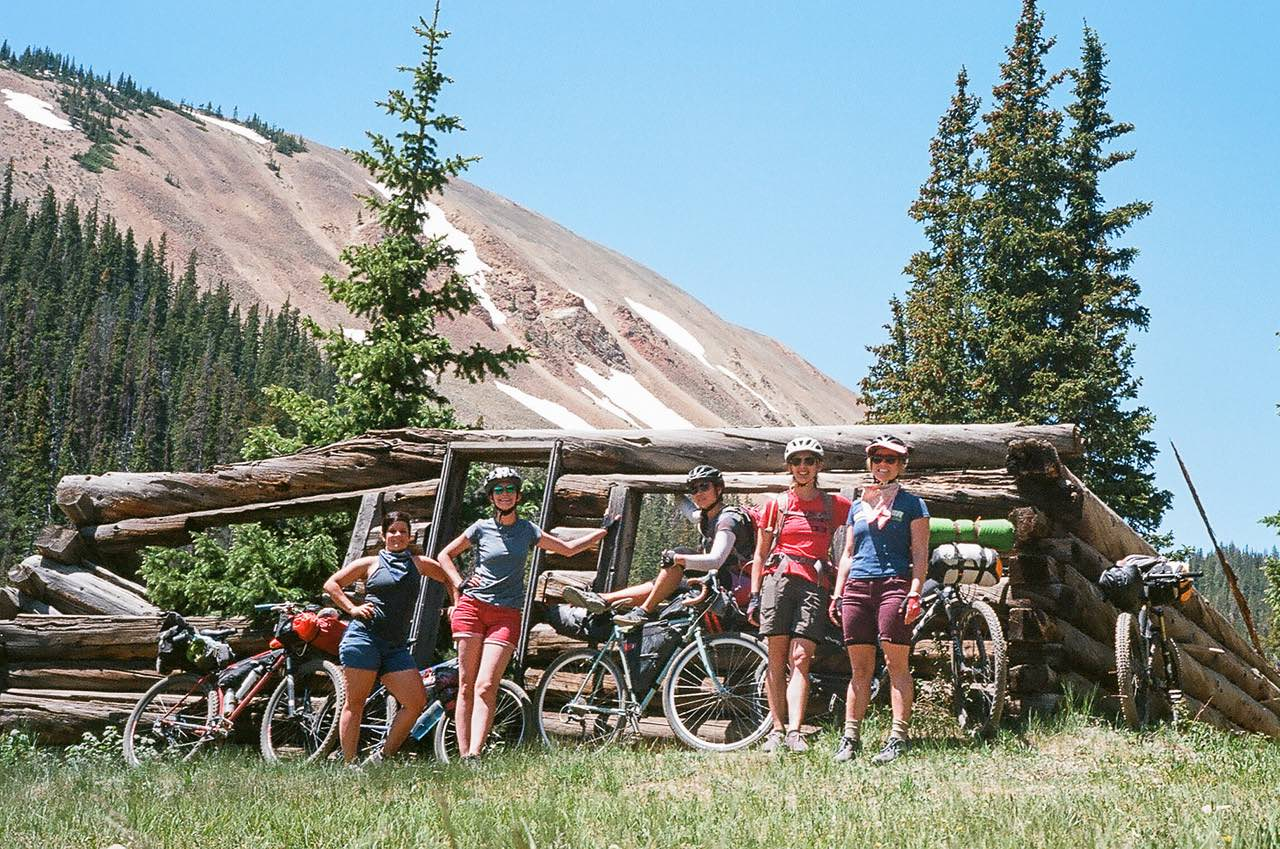 bikerumor pic of the day ladies of the front range women's bikepacking near tincup, colorado