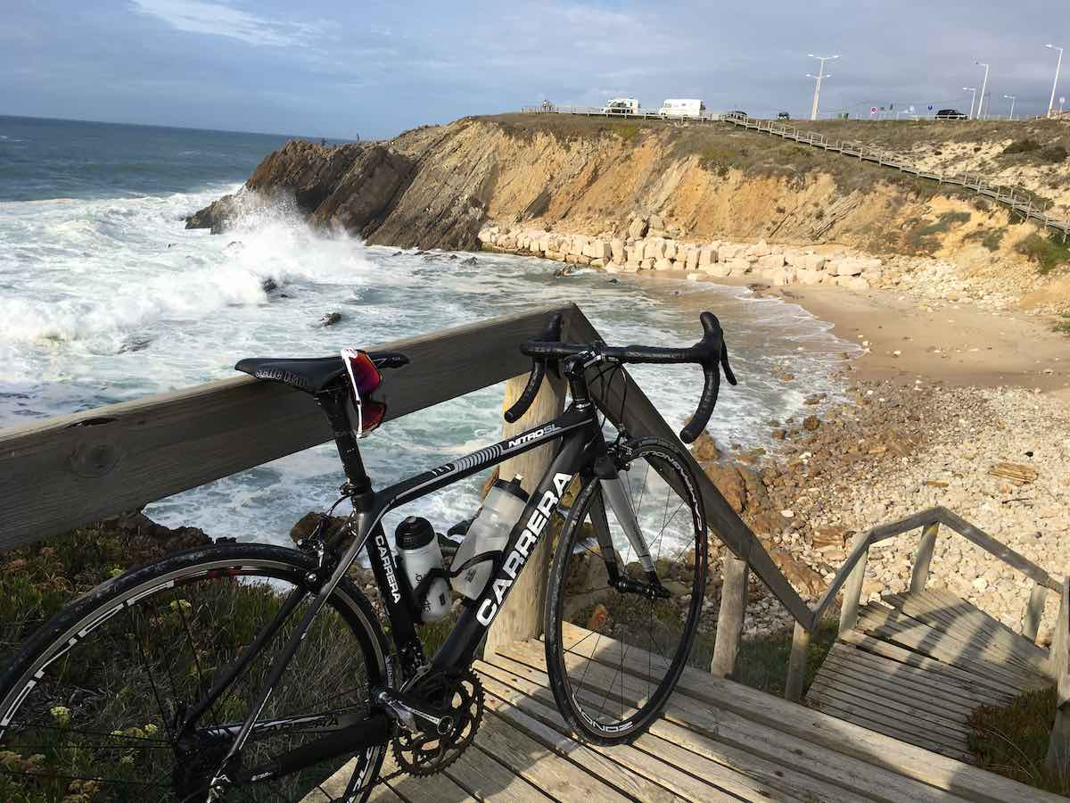 bikerumor pic of the day atlantic road along the coast of portugal