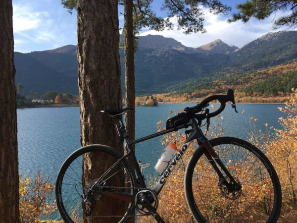 bikerumor pic of the day Laxe Doxa in the Peloponnese, Greece.