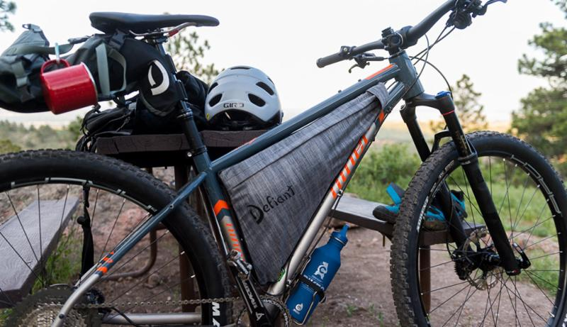 Niner goes strapless for the holidays with Defiant Frame Bag for SIR ...