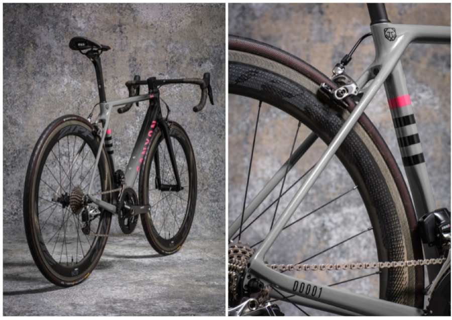 Rapha and Canyon released limited edition project bike