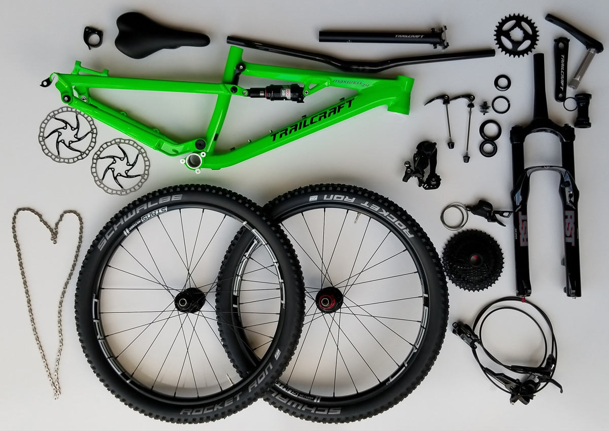 Trailcraft cycles premium youth mountain bikes