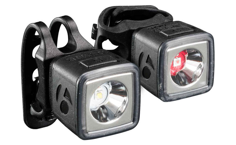 Bontrager Ion 100 R and Flare R rechargeable bicycle lights for daytime visibility