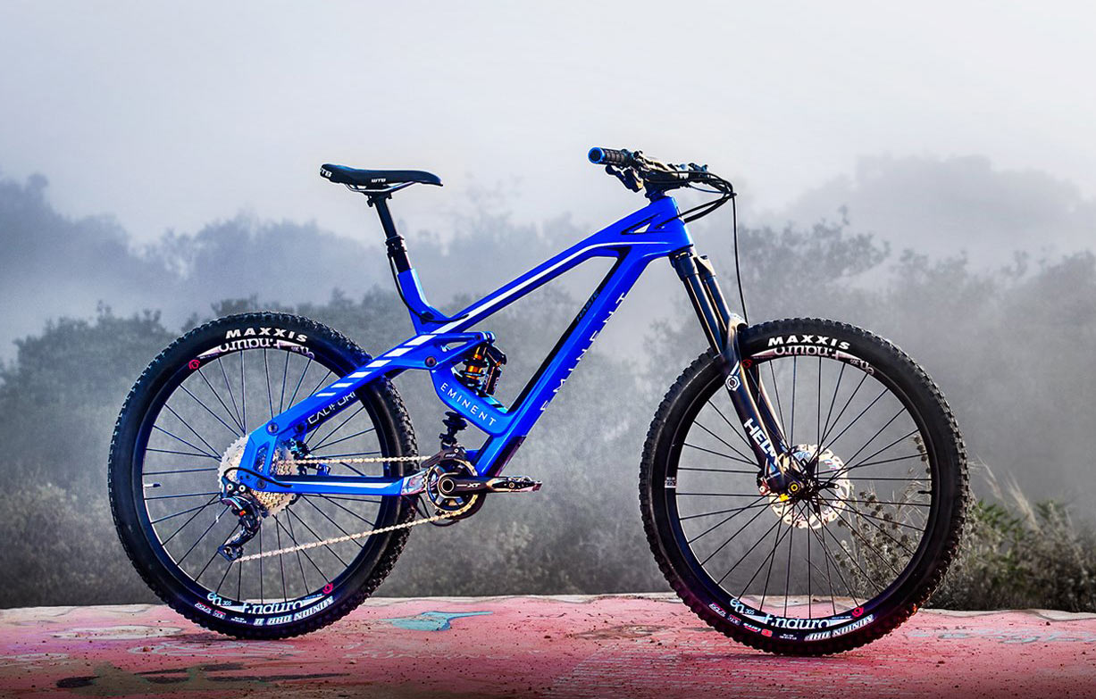 569187f487a Eminent Cycles floats a new suspension w/ Haste enduro mountain bike ...