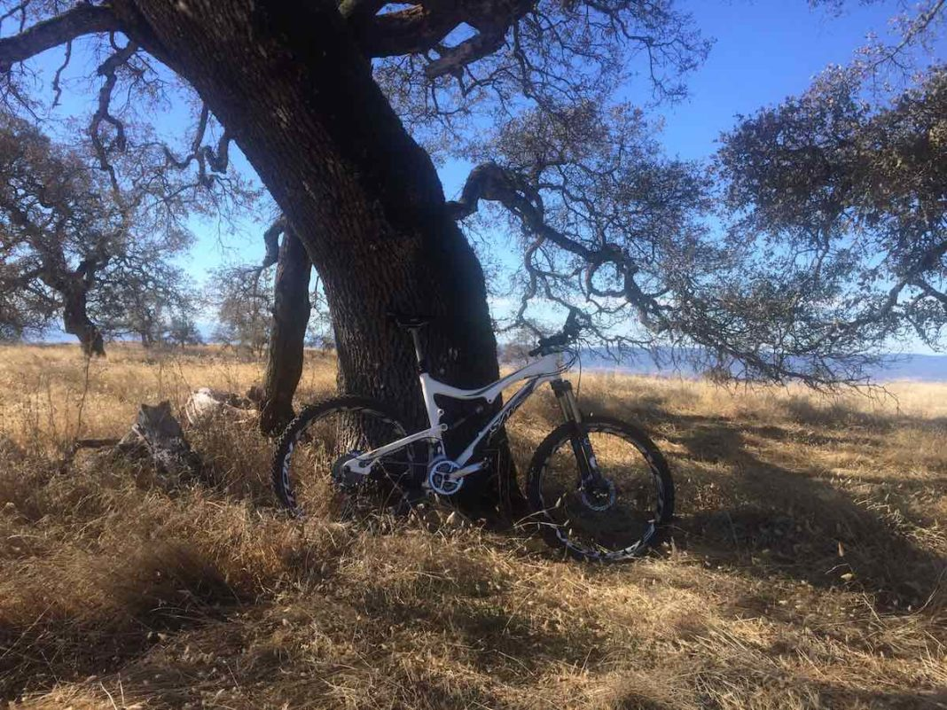 bikerumor pic of the day A spectacular fall day in Henry Coe State Park in Northern CA.