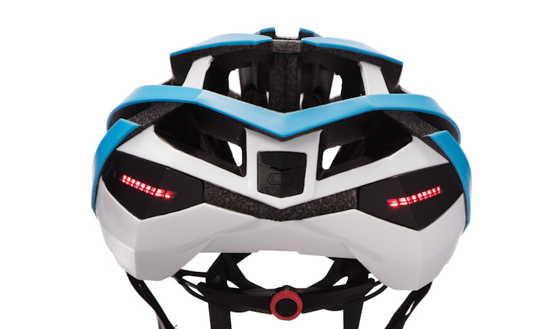 Coros OMNI smart helmet, LED lights
