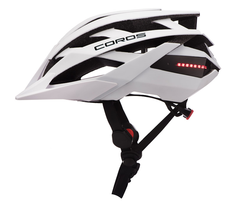 Coros OMNI smart helmet, white, side