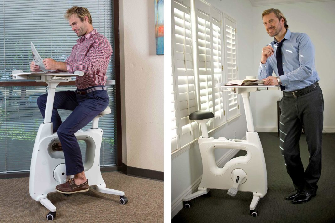 Rack Up Winter Base Miles At The Office On A Deskcise Pro