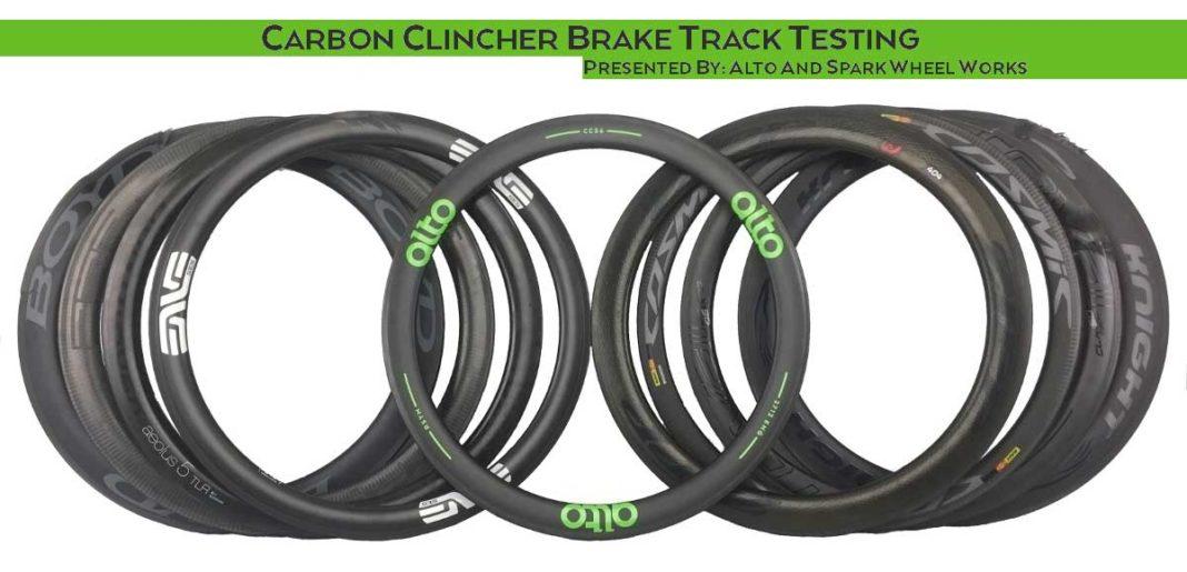 2018 Alto Cycling carbon rim brake performance comparison test against Zipp Knight Boyd Bontrager Mavic and more wheel brands