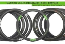 2018 Alto Cycling carbon rim brake performance comparison test against Zipp Knight Boyd Bontrager Mavic and more wheel brands
