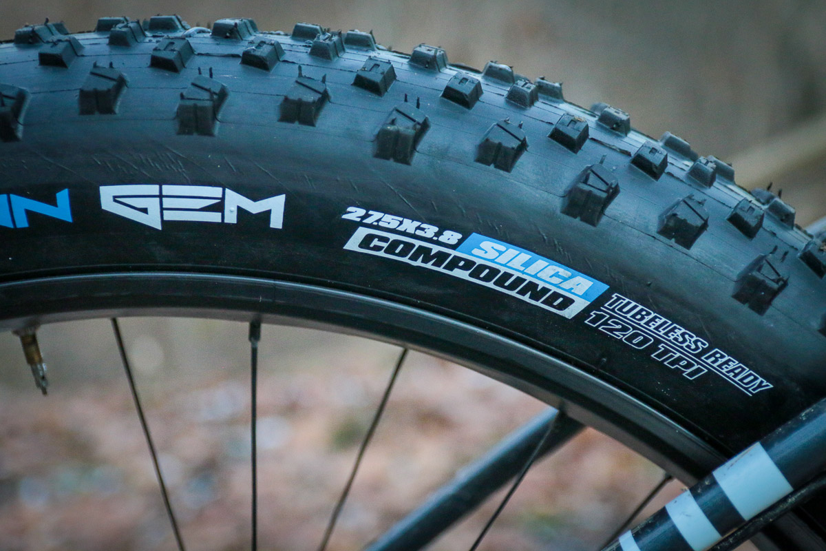 Tire Tech How Do The New 27 5 Quot Fat Bike Tires Measure Up