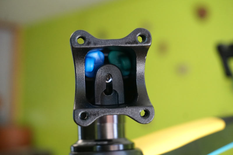 Redshift Sports Shockstop micro suspension bicycle stem elastomer installation and adjustments