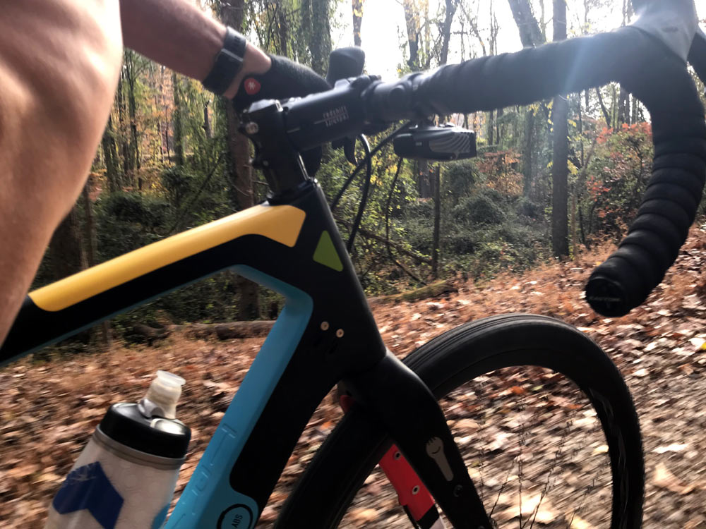 Redshift Sprots Shockstop micro suspension bicycle stem review and actual weights