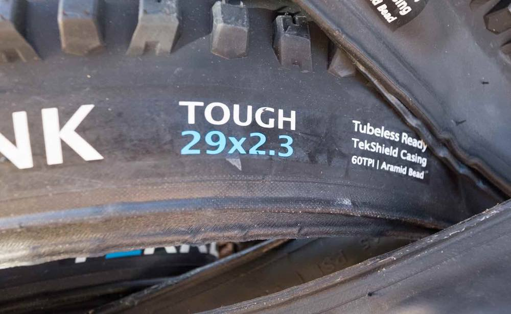 terrene tires are available with or without added protection layers in the casing.