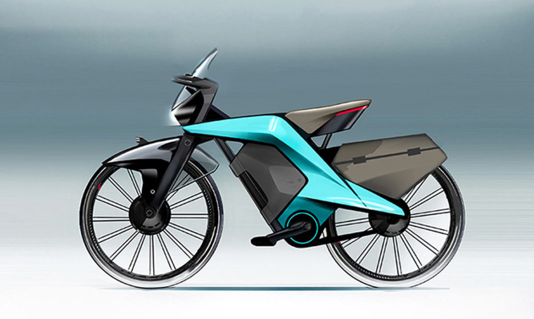 VeliSo Mirage aims to be the worlds safest bicycle with automotive technologies like collision avoidance anti-lock braking and tire pressure monitors