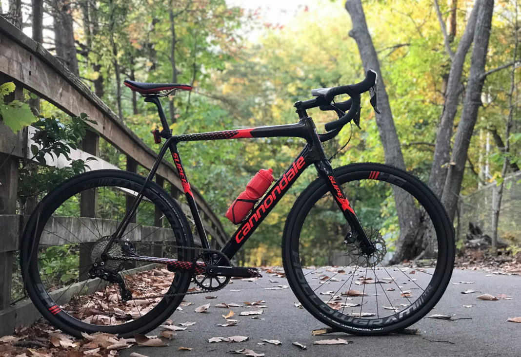 2018 Cannondale SuperX cyclocross race bike review and actual weights