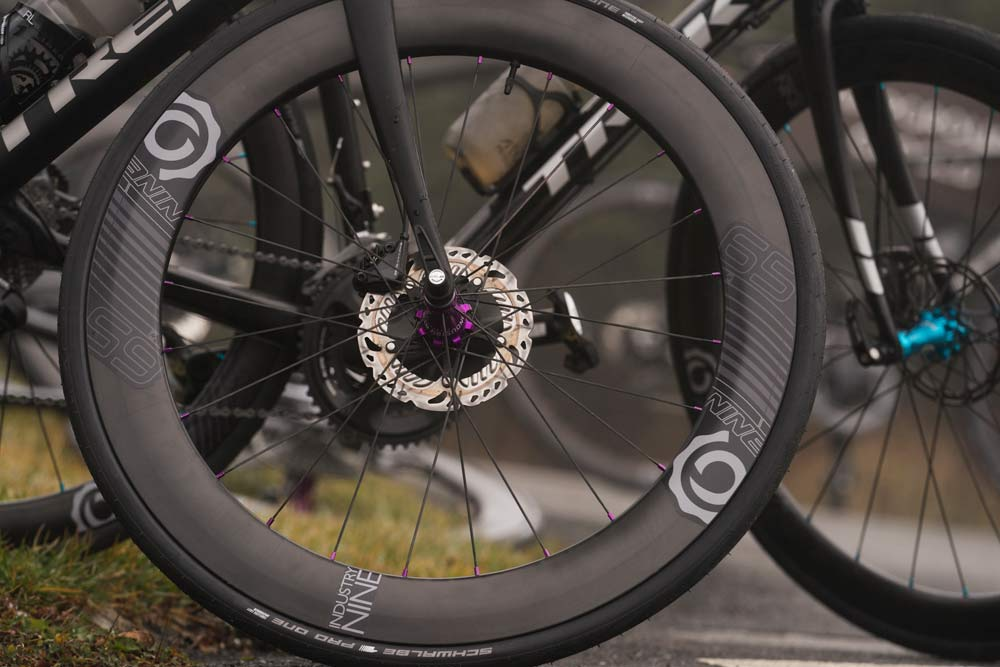 Industry nine i9 carbon aero road bike wheels for disc brakes only