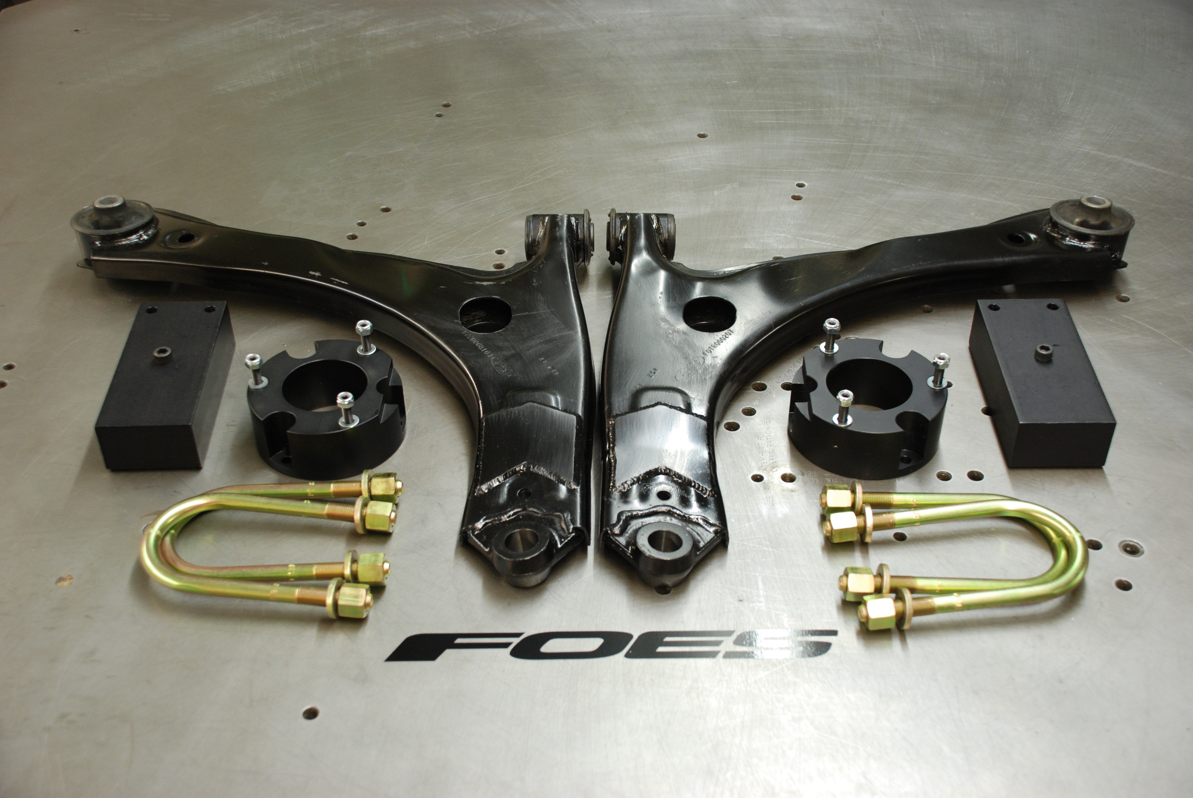 """Foes Racing lifts the Van Life with 2"""" lift kit & accessories for Ford Transit"""