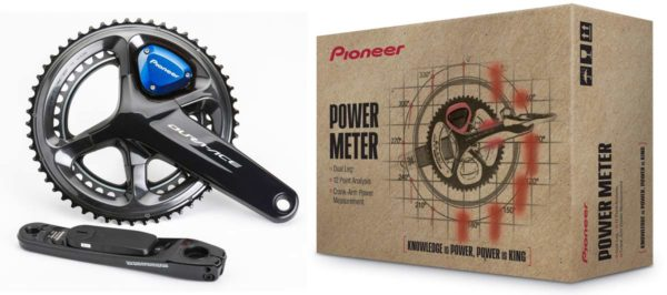 new lower pricing offers best prices on Pioneer Shimano Dura-Ace and Ultegra power meters for dual leg crankarms